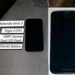 Motorola Atrix 3 Rumored Concept