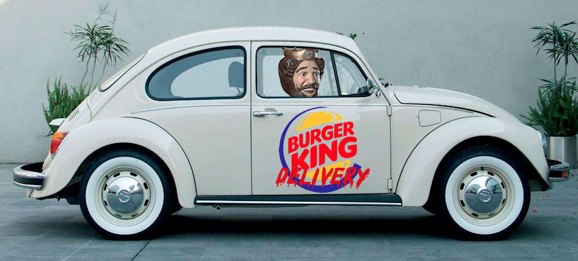 The King Delivers: Burger King's New Delivery Service