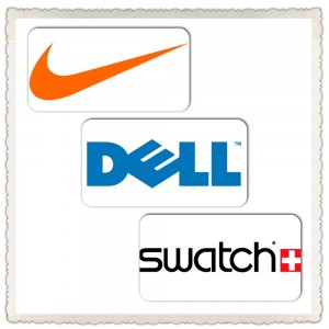 NIke, Dell, and Swatch