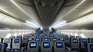 787 wide body interior
