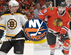 Both Johnny Boychuk and Nick Leddy lost their roster spots on championship teams because of poor forecasting.